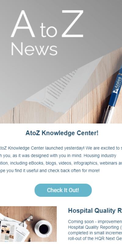 AtoZ News Popup